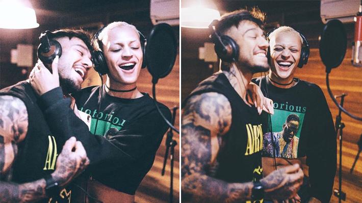 Pabllo Vittar e Lucas Lucco estão gravando single juntos!